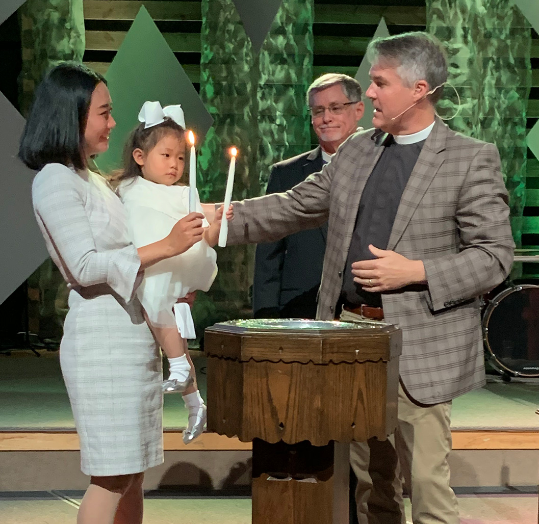 Baptism of ESL Mother and Daughter