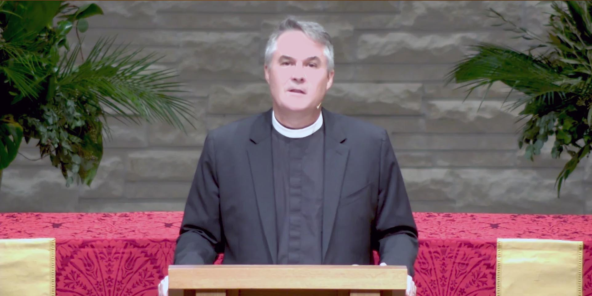 Into the Father's Hands - Sermon by the Rev. Charlie Holt