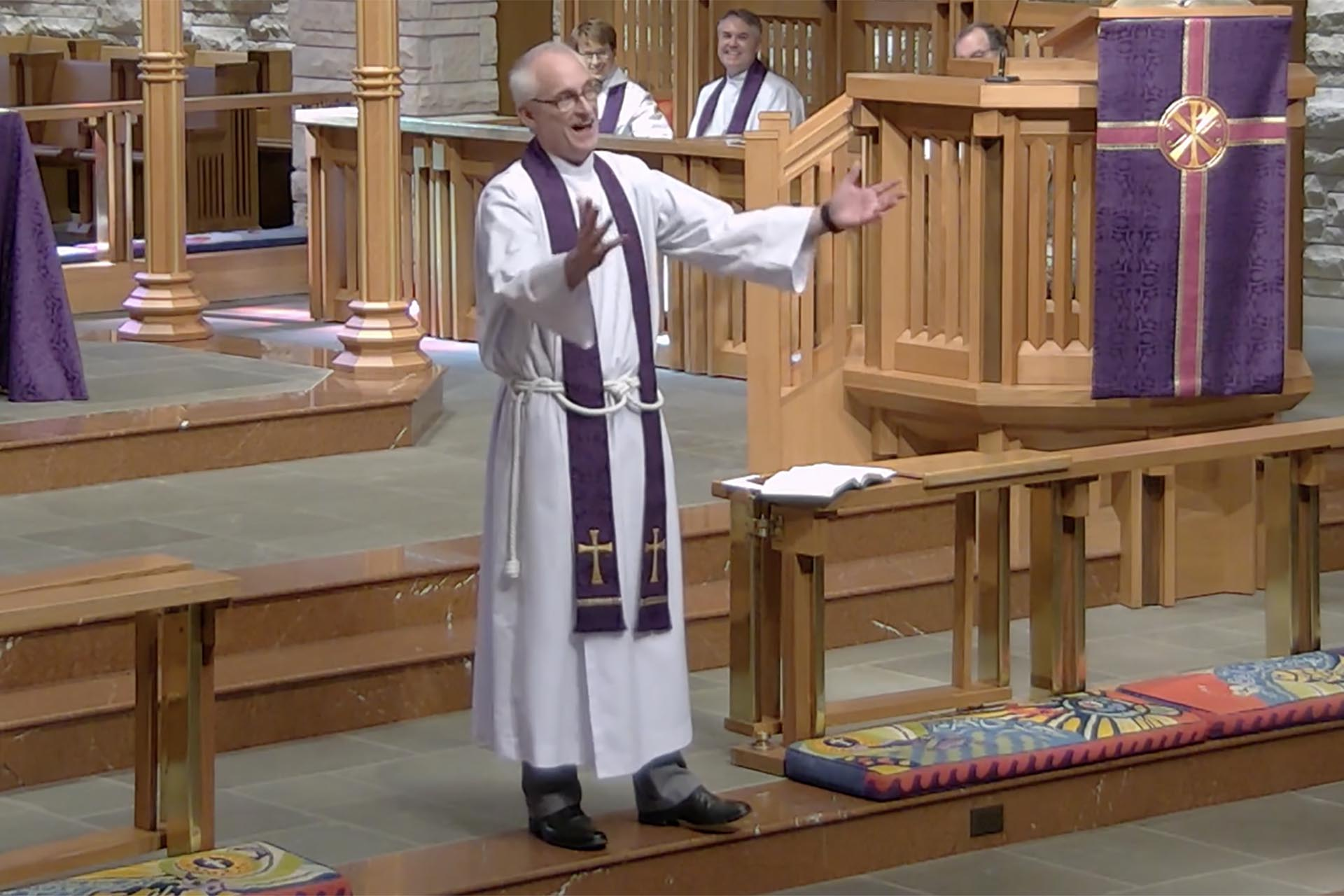 Defiance or Confession - Sermon by the Rev. Dr. Clay Lein