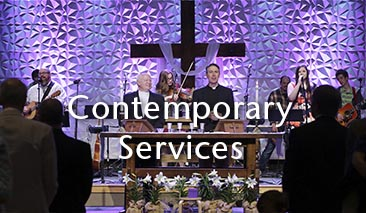 Contemporary Worship Services