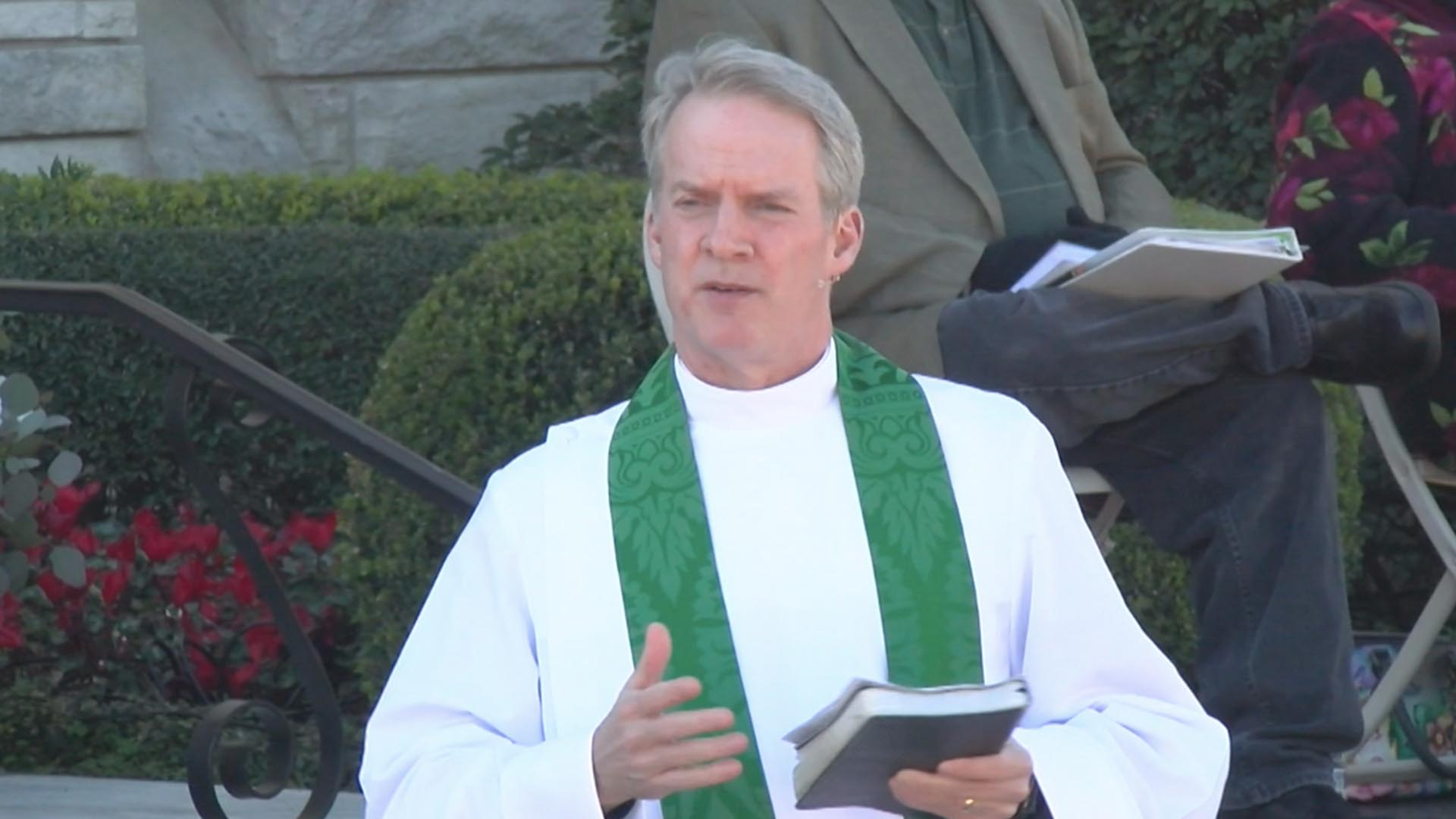 The Pattern of Jesus and Prayer in the Father - Sermon by the Rev. Dr. R. Leigh Spruill