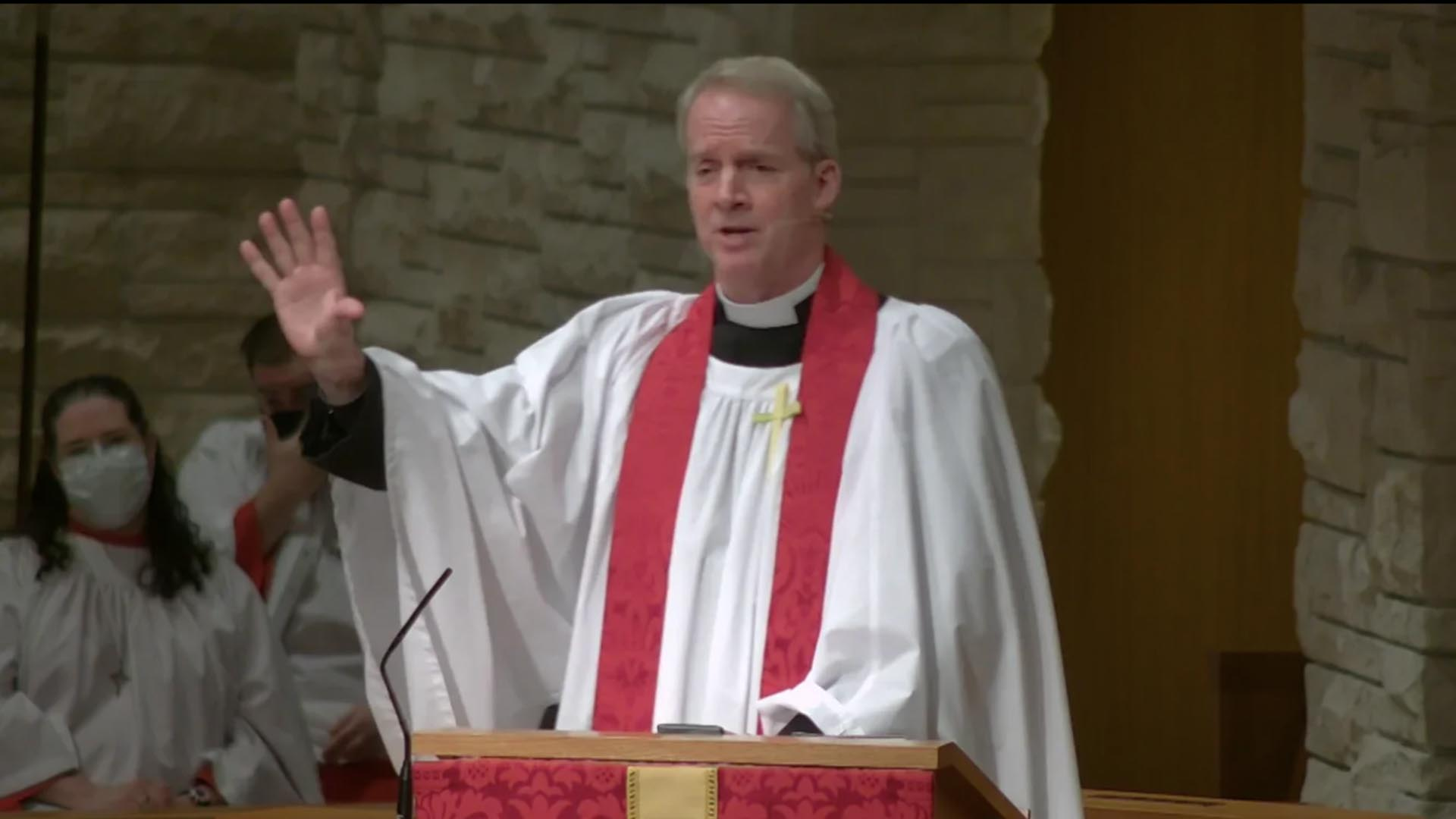 Power that Transforms a Bloody Story - Sermon by the Rev. Dr. Leigh Spruill
