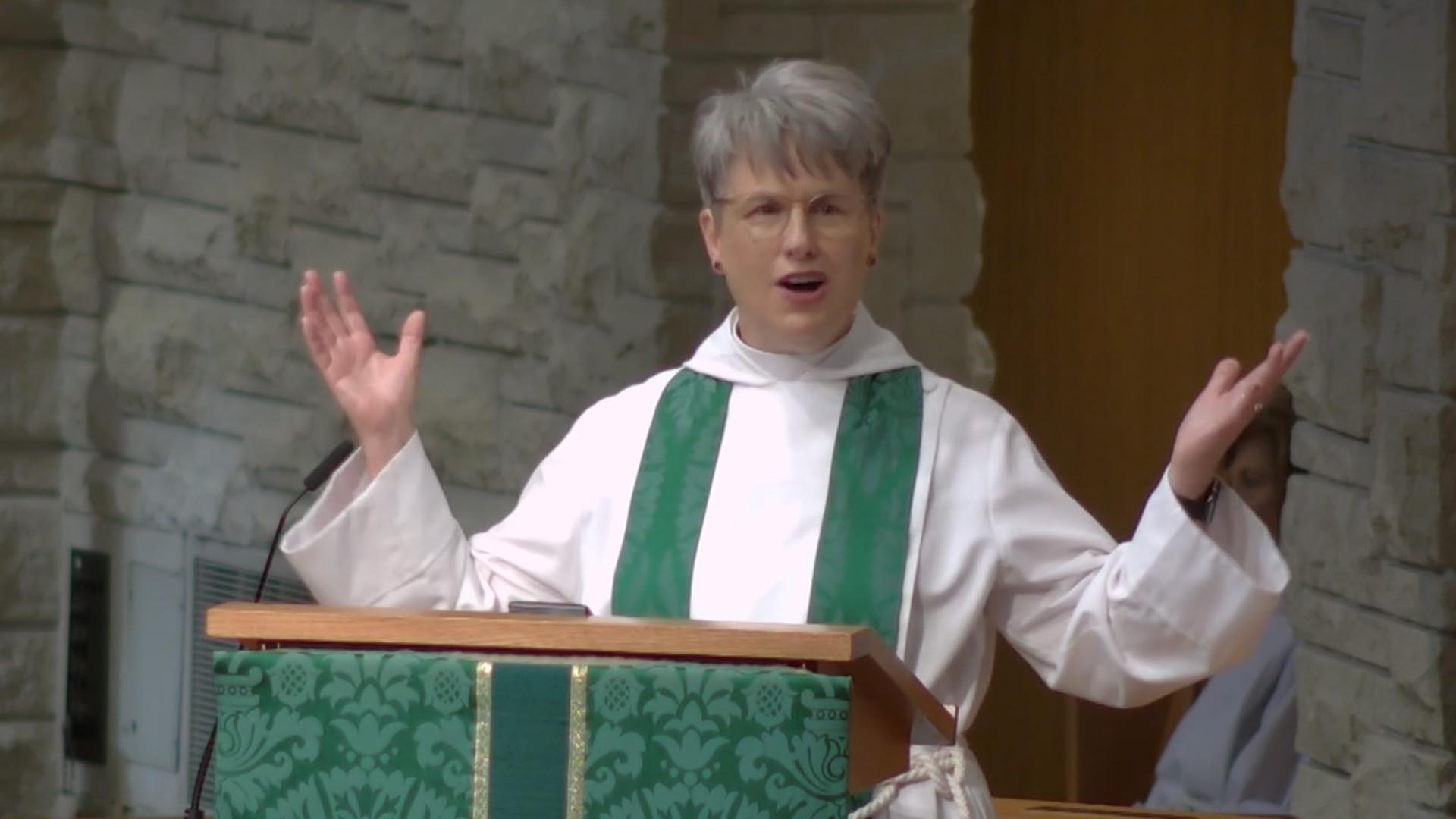 Tripping Up - Sermon by Louise Samuelson