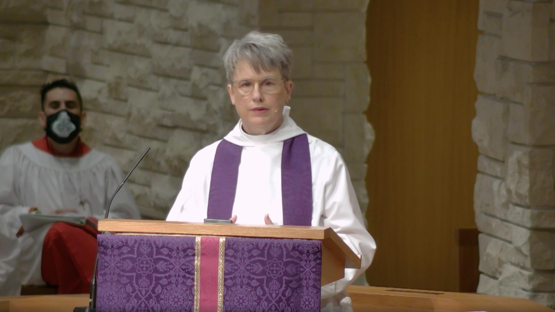 Jesus Comes Tenderly - Sermon by the Rev. Louise Samuelson