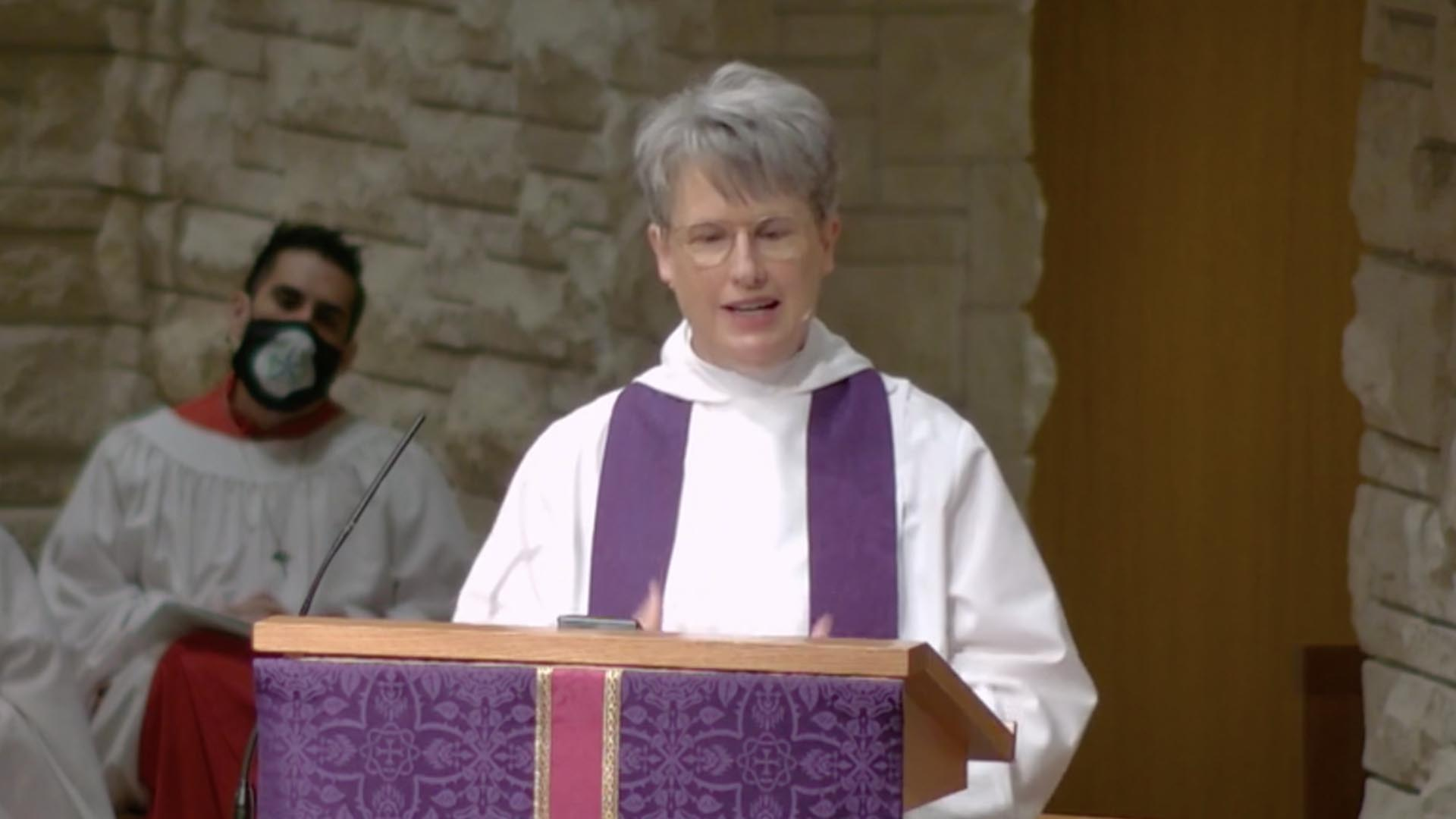 One Among You - Sermon by the Rev. Louise Samuelson