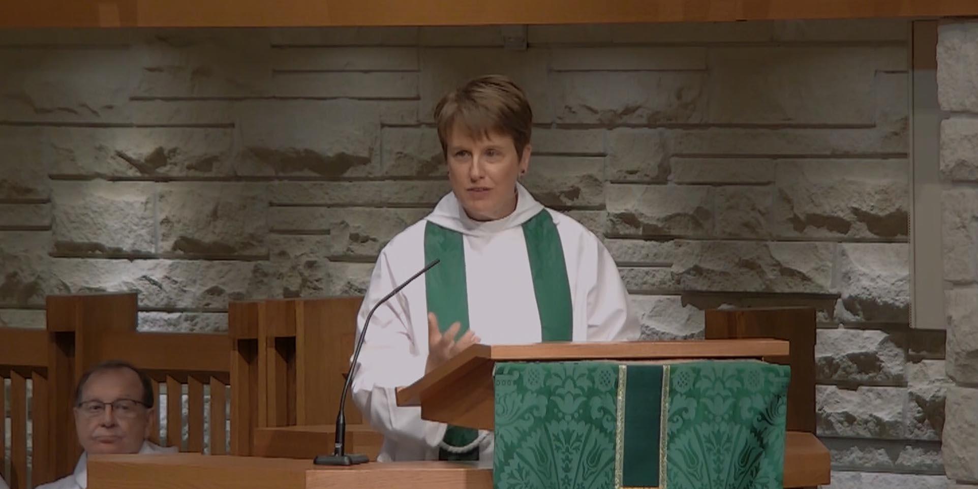 Connecting Heaven and Earth - Sermon by the Rev. Louise Samuelson