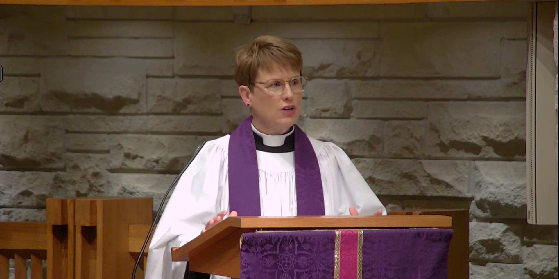 Lean Into Jesus - Sermon by the Rev. Louise Samuelson