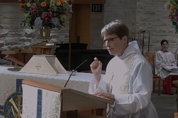 In the Flow of God's Love - Sermon by the Rev. Louise Samuelson