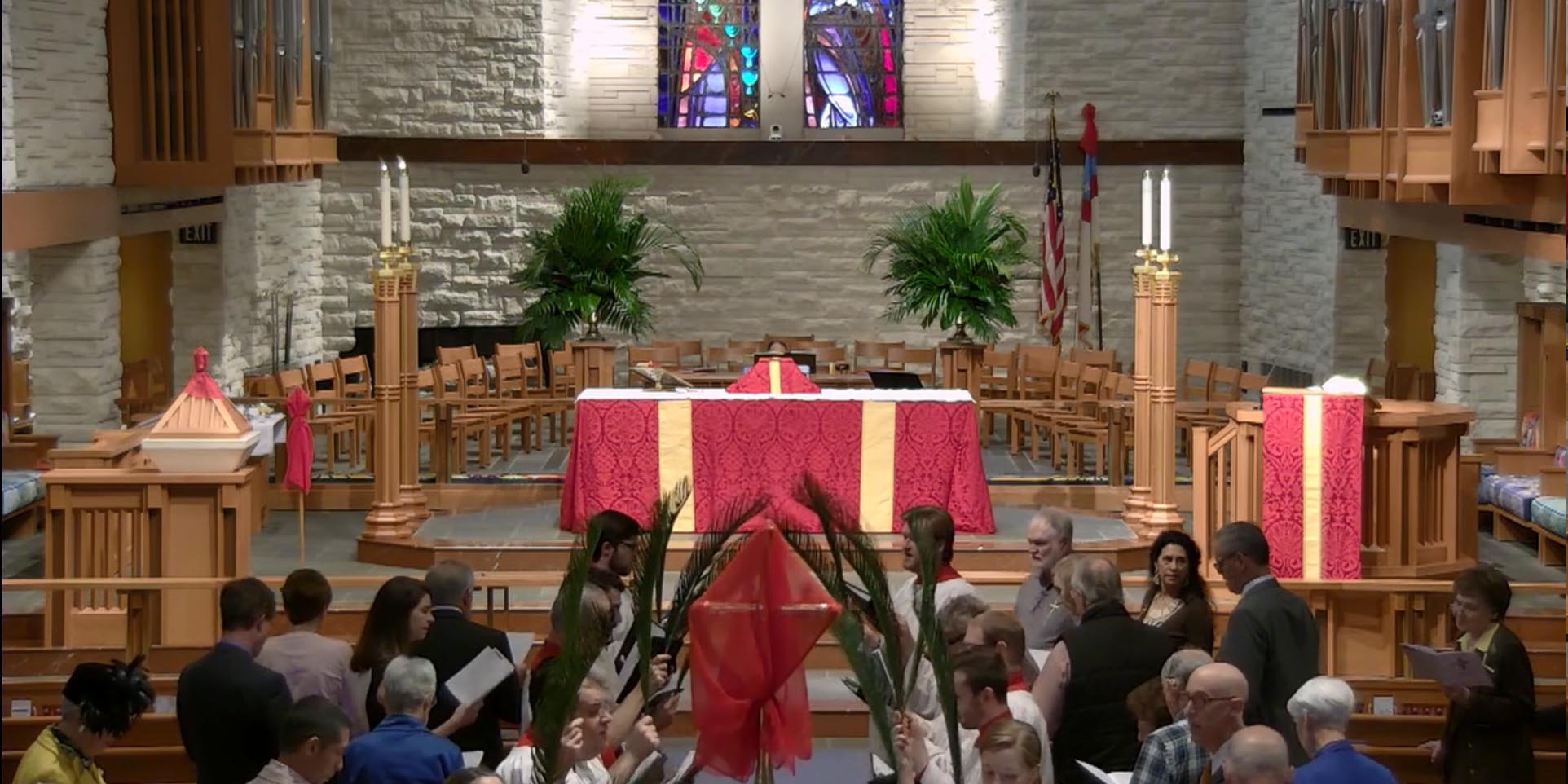 March 25 - 9:00 am Traditional Palm Sunday Service