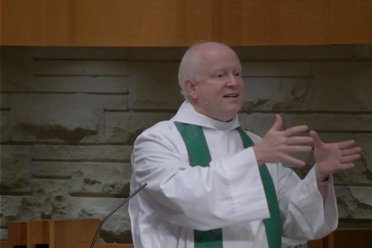 Jesus is the Good Samaritan - Sermon by the Rev. Reagan Cocke