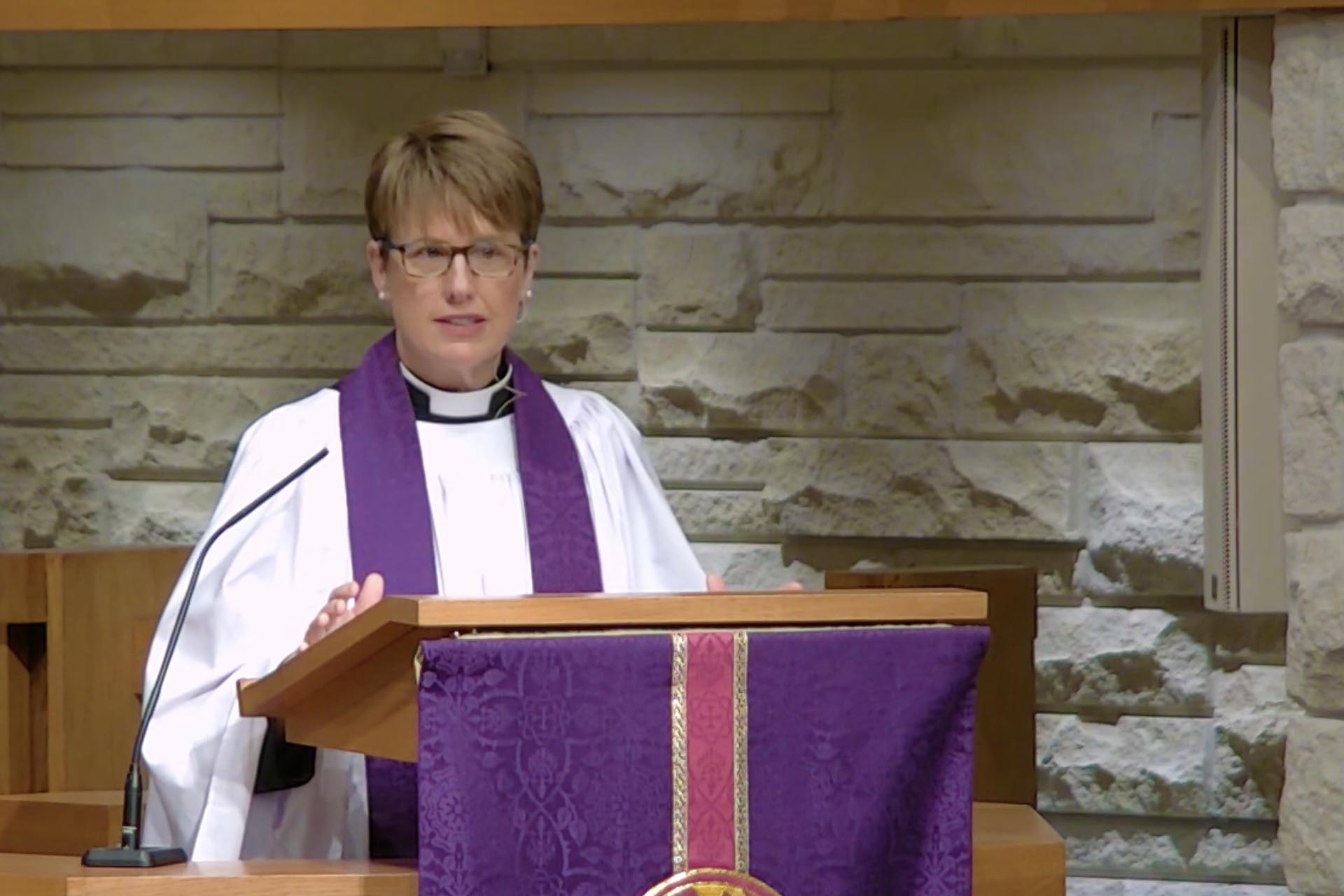 Thirst - Sermon by the Rev. Louise Samuelson