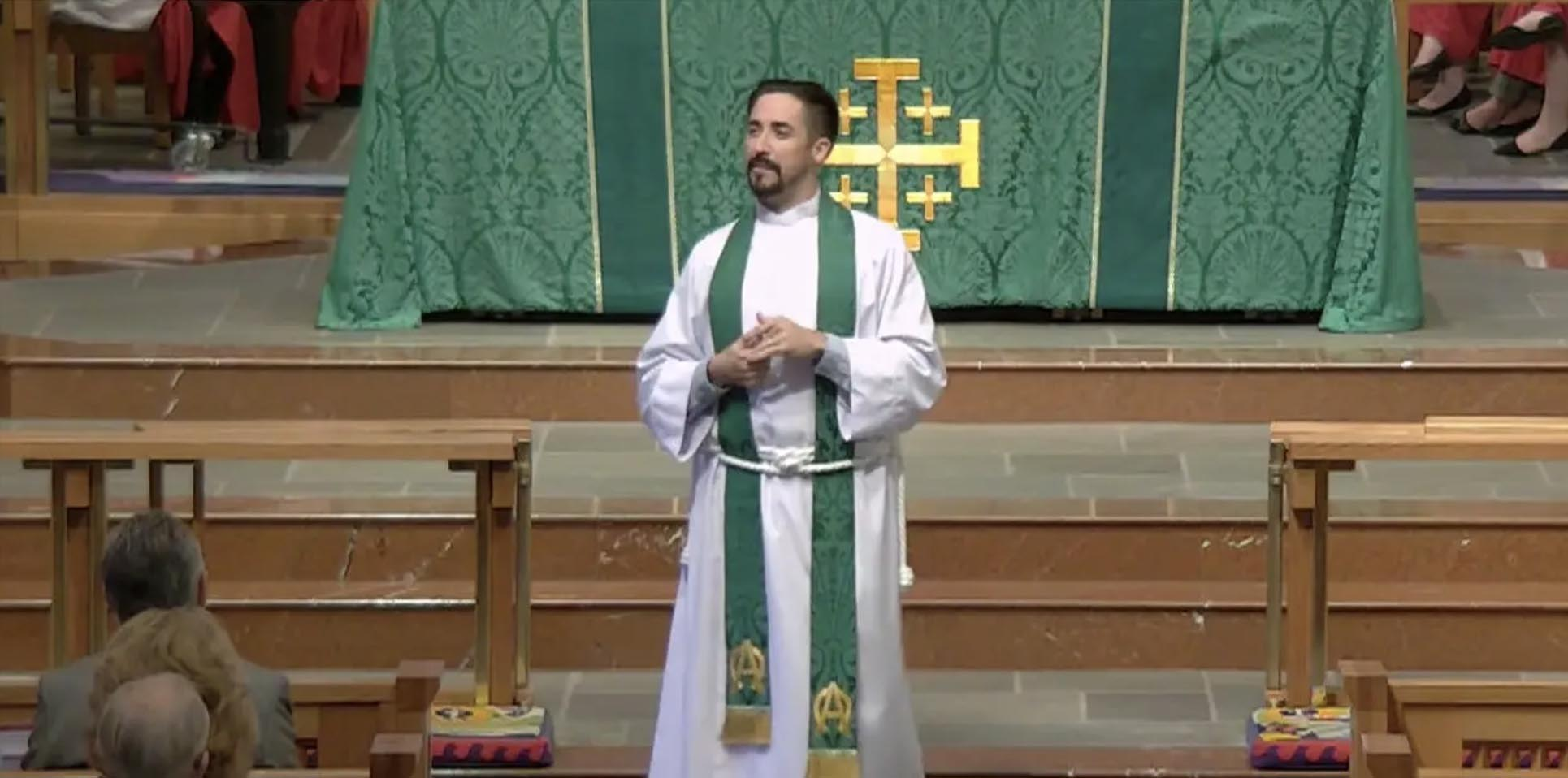 What Are You Afraid Of? - Sermon by the Rev. Sean Steele