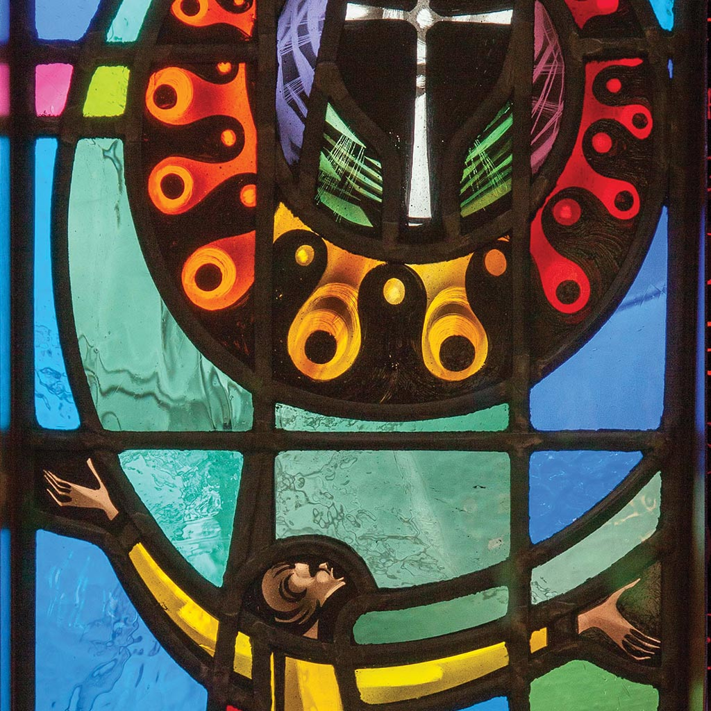 Stained Glass photographed by the Rev. Greg Buffone